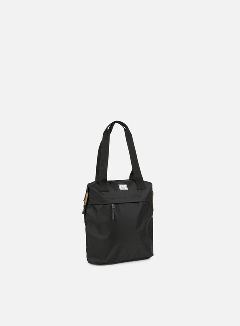 accessori herschel collins tote bag classic black
