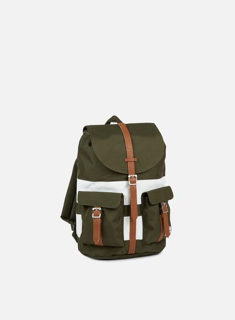 accessori herschel dawson backpack classic forest night white rugby stripe