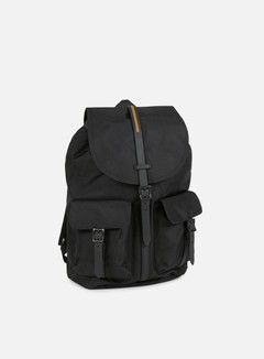 Herschel - Dawson Gum Rubber Backpack,  Black/Black 1