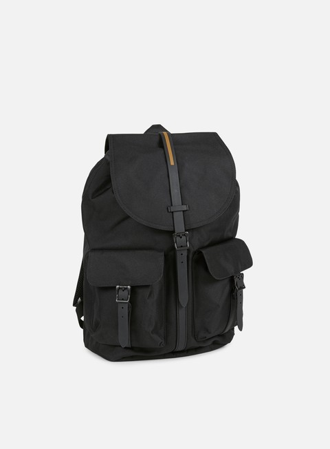 accessori herschel dawson gum rubber backpack black black