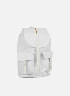 Herschel - Dawson Gum Rubber Backpack,  White/White