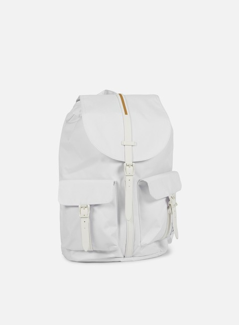 accessori herschel dawson gum rubber backpack white white