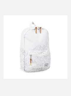 Herschel - Disney Settlement Mid Volume Backpack, White/Winnie