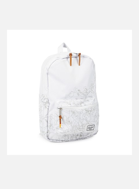 accessori herschel disney settlement mid volume backpack white winnie