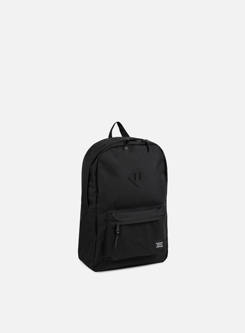 accessori herschel heritage backpack aspect black black