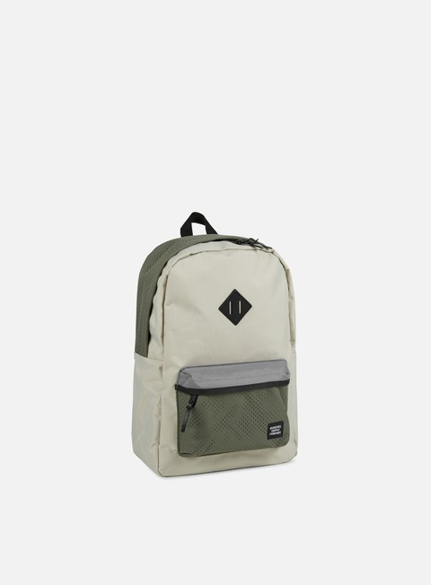 accessori herschel heritage backpack aspect pelican deep lichen green