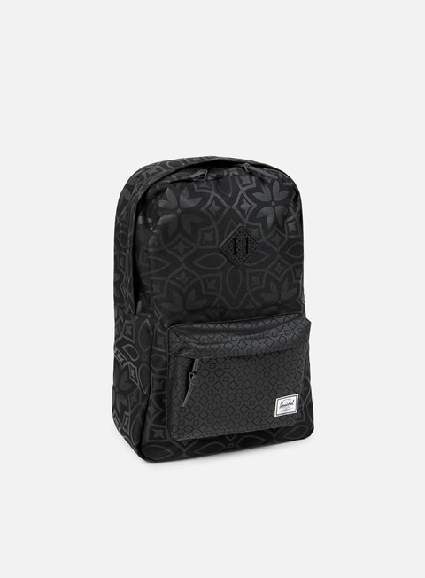 accessori herschel heritage backpack classic black khatam