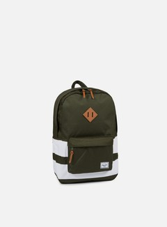 Herschel - Heritage Backpack Classic, Forest Night/White Rugby Stripe 1
