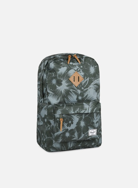 accessori herschel heritage backpack classic jungle floral
