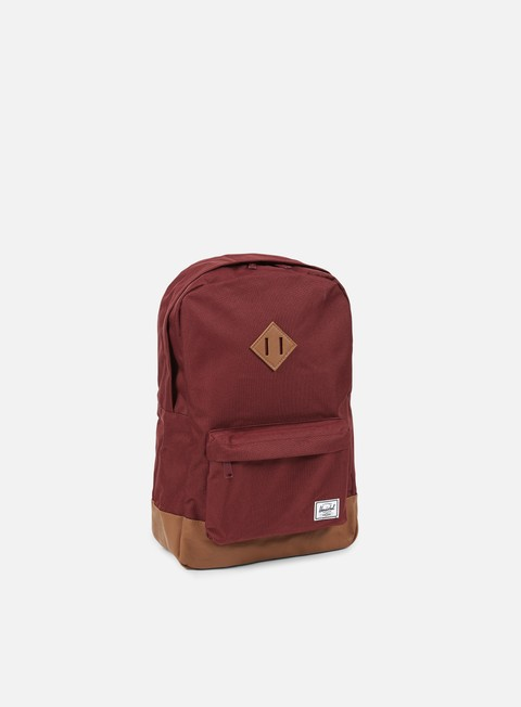 accessori herschel heritage backpack classic windsor wine