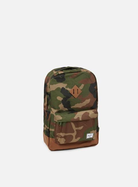 accessori herschel heritage backpack classic woodland camo