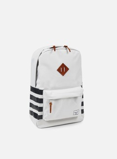 Herschel - Heritage Backpack Offset, Lunar Rock/Dark Shadow