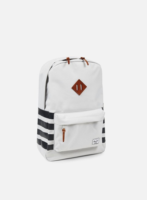 accessori herschel heritage backpack offset lunar rock dark shadow