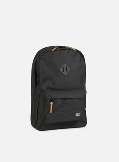 Herschel - Heritage Gum Rubber Backpack, Black/Black 1