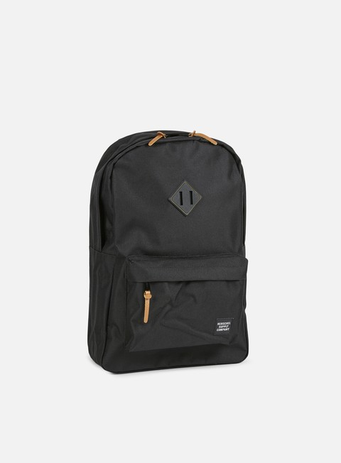 accessori herschel heritage gum rubber backpack black black