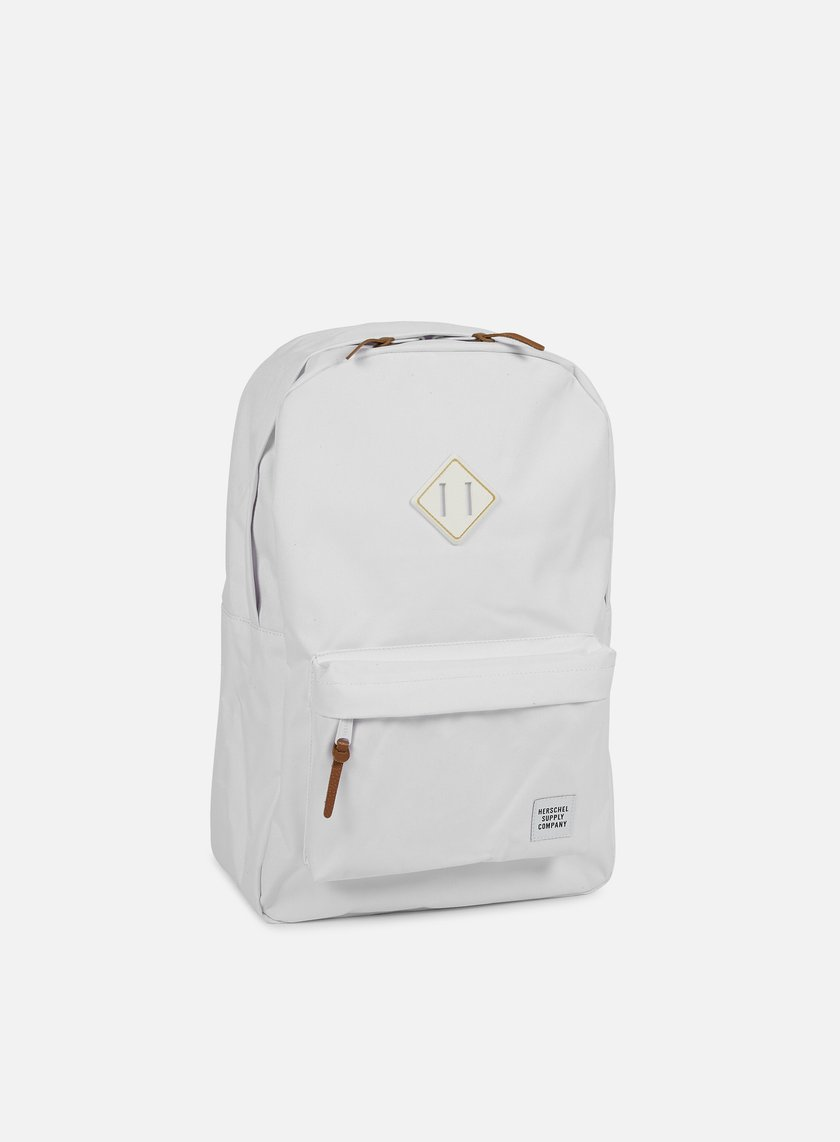 Herschel - Heritage Gum Rubber Backpack, White/White