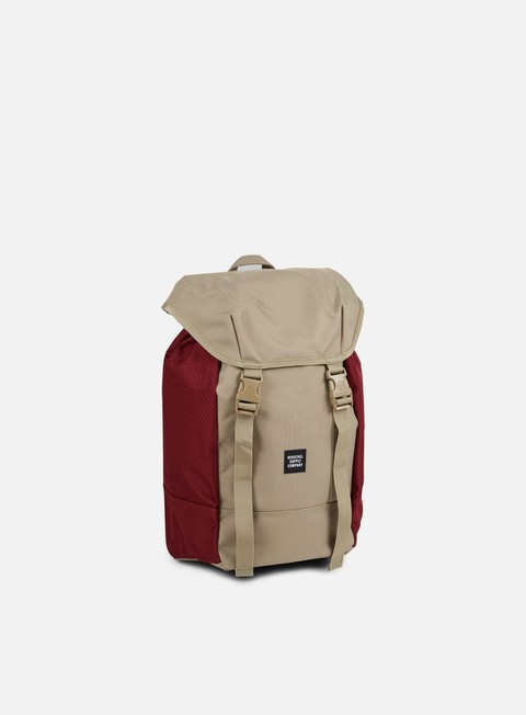 accessori herschel iona backpack classic brindle windsor wine