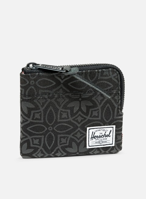 accessori herschel johnny pouch wallet black khatam