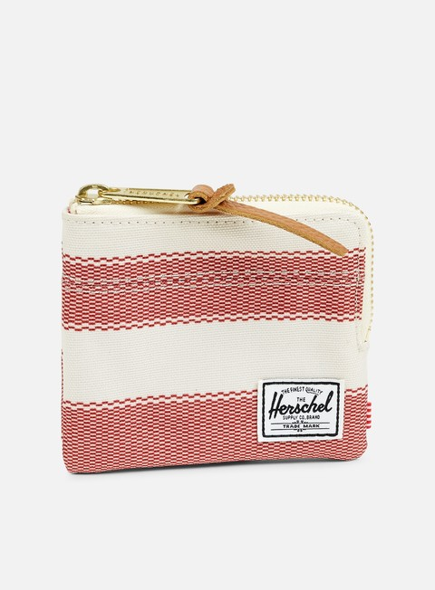 accessori herschel johnny pouch wallet natural fouta