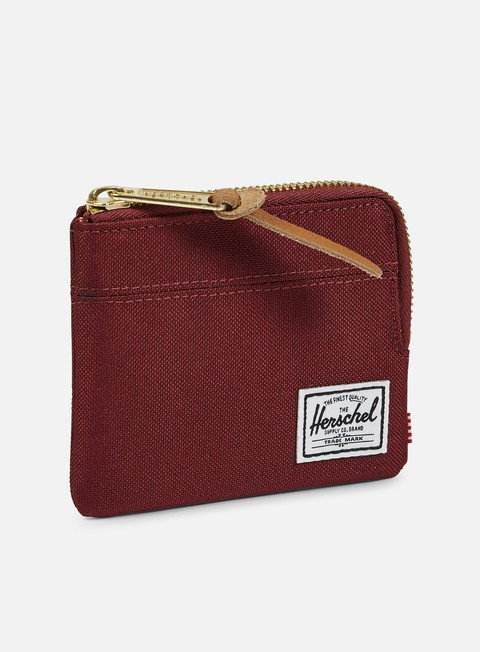 accessori herschel johnny pouch wallet windsor wine