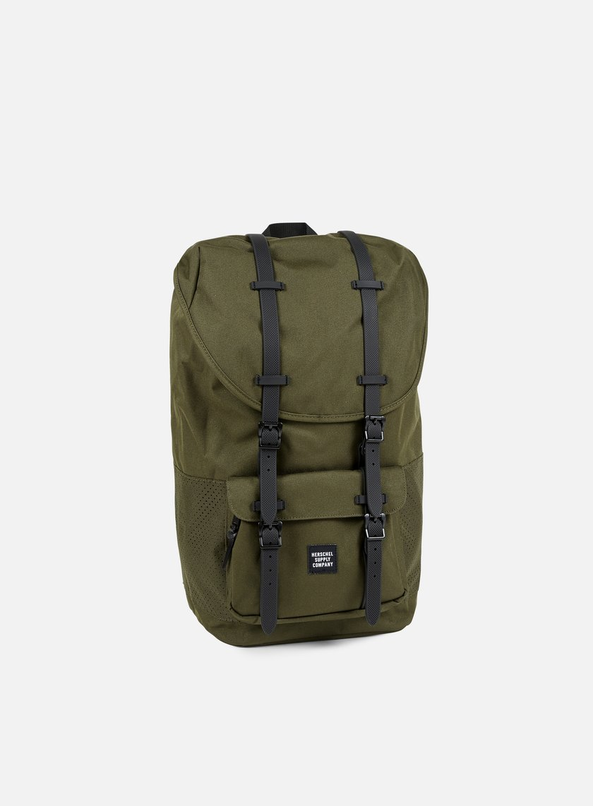 Herschel - Little America Backpack Aspect, Forest Night/Black Rubber