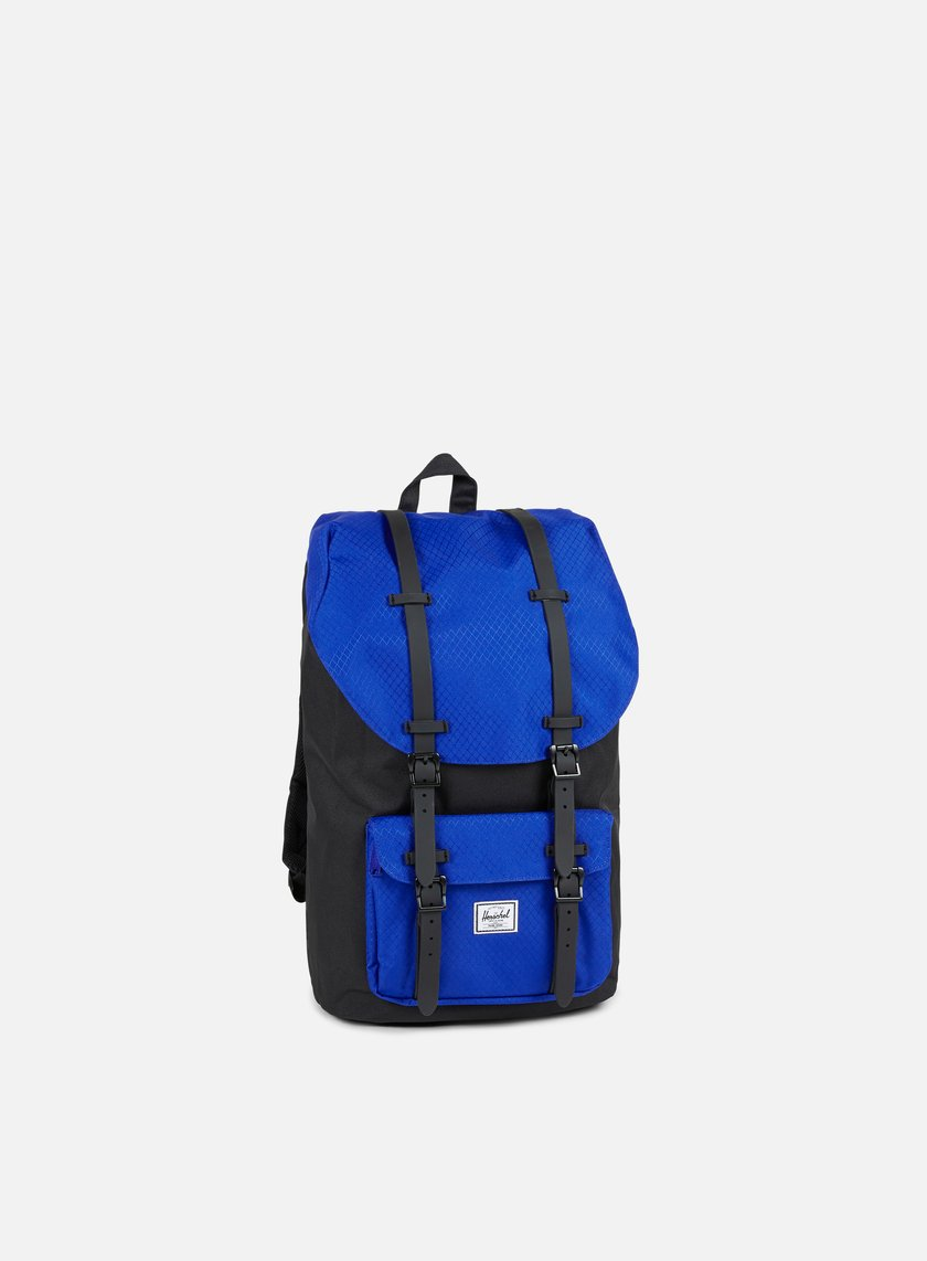 Herschel - Little America Backpack Classic, Black/Surf The Web