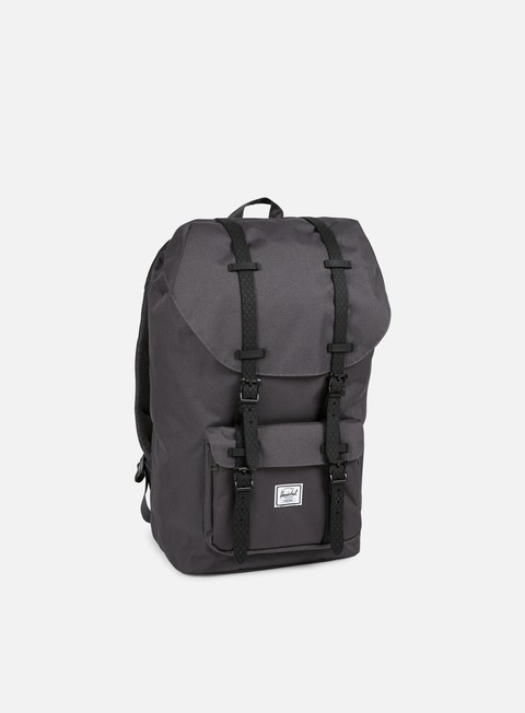 accessori herschel little america backpack classic charcoal black