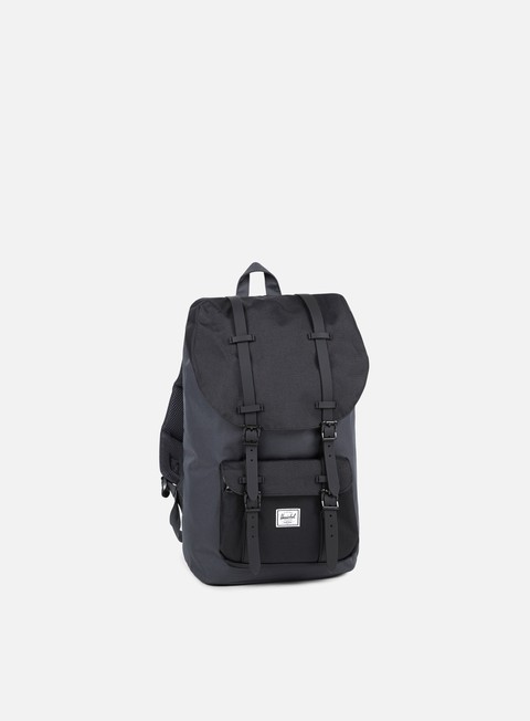accessori herschel little america backpack classic dark shadow black
