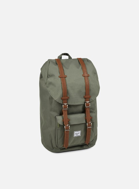 accessori herschel little america backpack classic deep lichen green