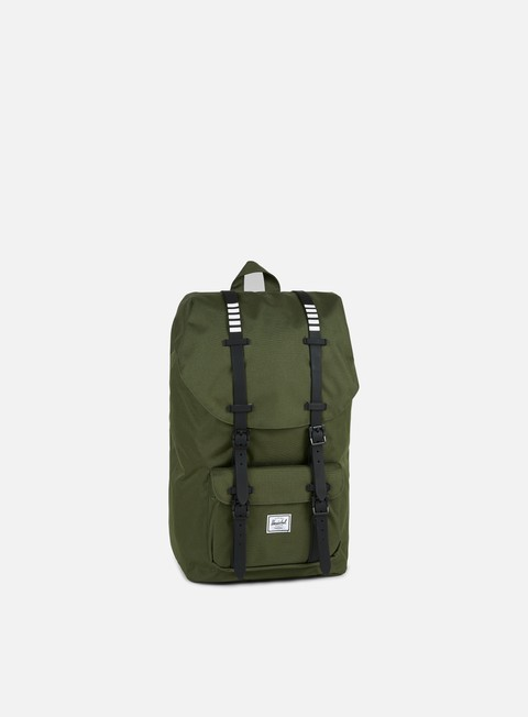 accessori herschel little america backpack classic forest night black