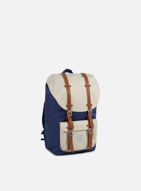 accessori herschel little america backpack classic twilight blue pelican