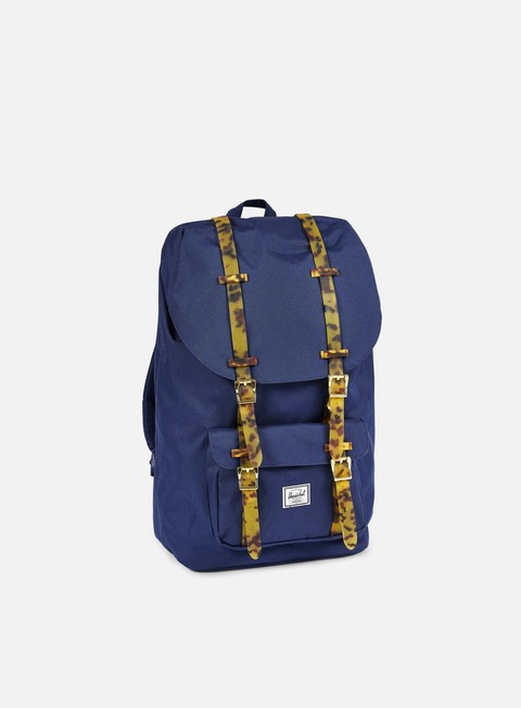 accessori herschel little america backpack tortoise twilight blue tortoise