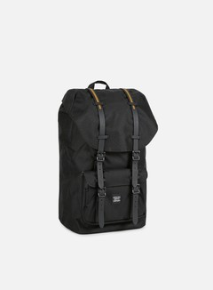 Herschel - Little America Gum Rubber Backpack, Black/Black 1