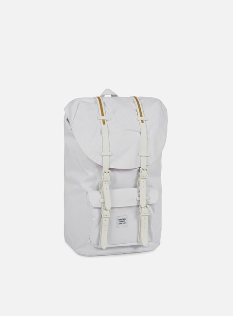 accessori herschel little america gum rubber backpack white white