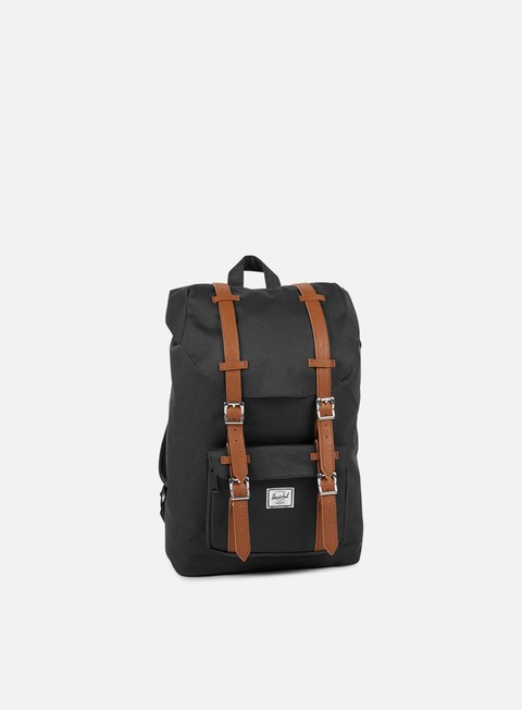 accessori herschel little america mid volume backpack classic black