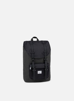 Herschel - Little America Mid Volume Backpack Classic, Black Grid 1
