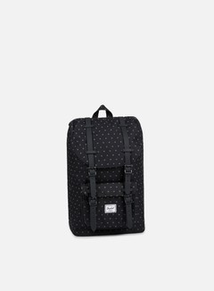 Herschel - Little America Mid Volume Backpack Classic, Black Gridlock