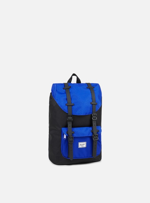 accessori herschel little america mid volume backpack classic black surf the web