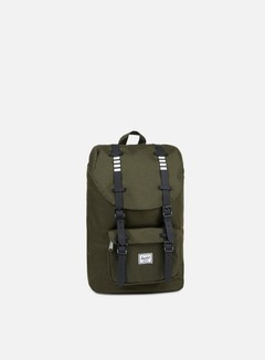 Herschel - Little America Mid Volume Backpack Classic, Forest Night/Black