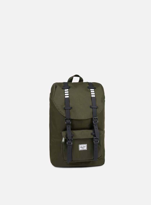 Herschel - Little America Mid Volume Backpack Classic, Forest Night/Black
