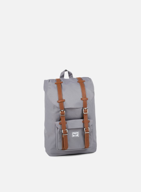 accessori herschel little america mid volume backpack classic grey
