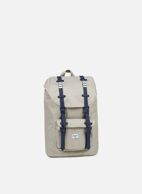 accessori herschel little america mid volume backpack classic light khaki
