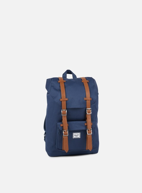 accessori herschel little america mid volume backpack classic navy