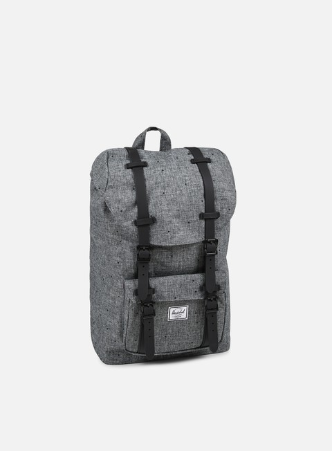 accessori herschel little america mid volume backpack classic scattered raven