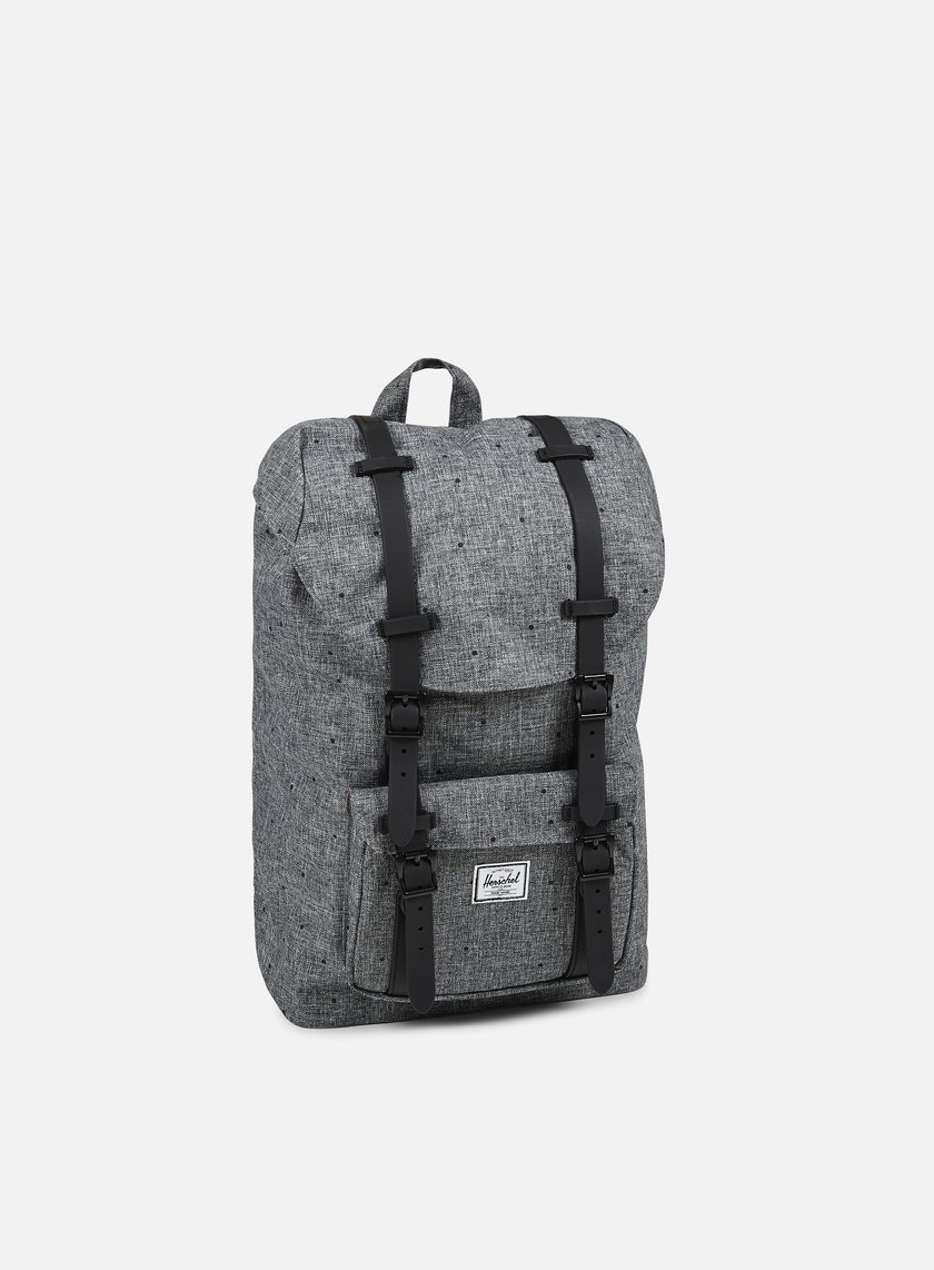 Herschel - Little America Mid Volume Backpack Classic, Scattered Raven