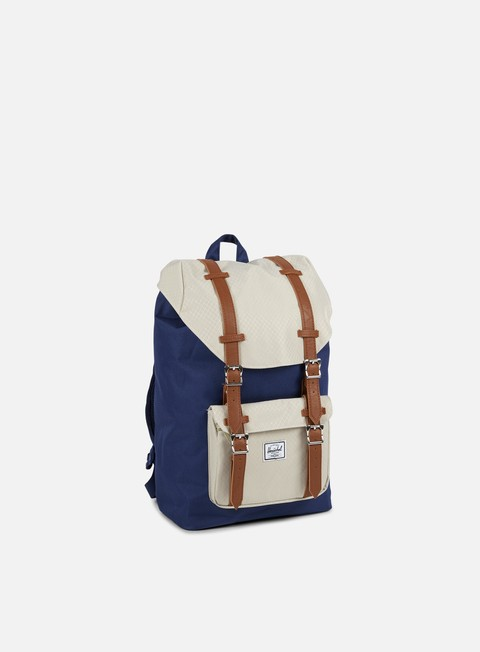 accessori herschel little america mid volume backpack classic twilight blue