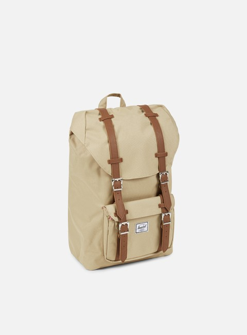 accessori herschel little america mid volume backpack khaki