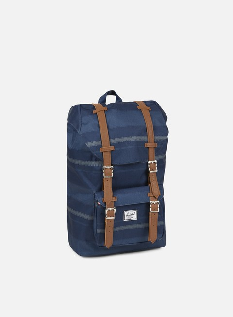 accessori herschel little america mid volume backpack navy fouta