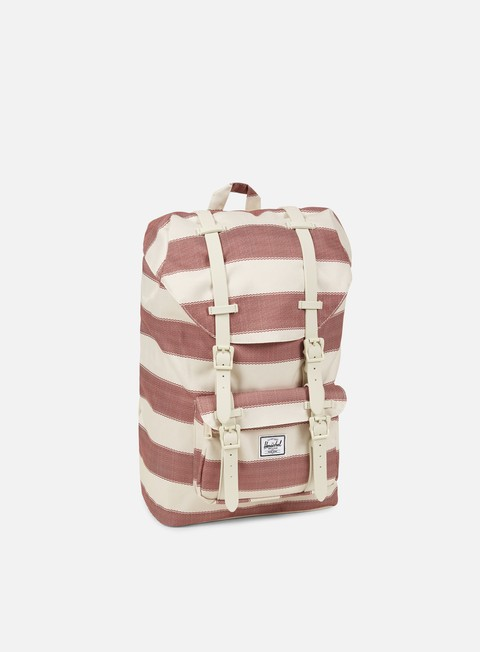 accessori herschel little america mid volume rubber backpack classic natural fouta