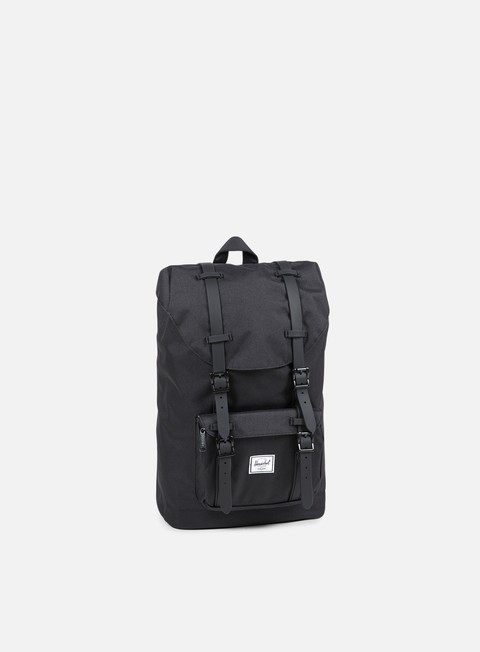accessori herschel little america mid volume rubber classic backpack black black